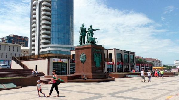 Набережная Адмирала Серебрякова в Новороссийске ...