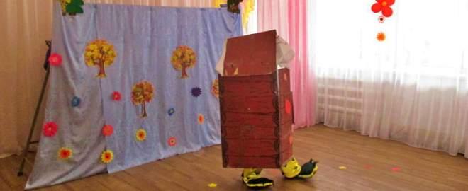 Кукольный спектакль «Лесная сказка» в ДОУ №16