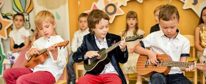 Роль музыки в жизни детей дошкольного возраста