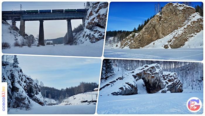 Зимний пеший маршрут в 19 километров по руслам рек Каменки и Исети