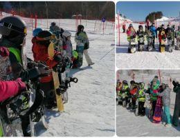 Новое снаряжение для молодых сноубордистов в Каменске-Уральском