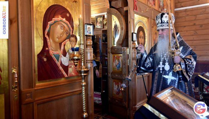 26 марта 2021 епископ Мефодий совершил Литургию Преждеосвященных Даров