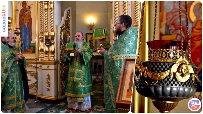 13 марта 2021 Владыка Мефодий совершил Литургию в день всех преподобных отцов