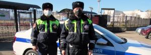 На Кубани сотрудники Госавтоинспекции доставили в лечебное учреждение молодого человека, нуждавшегося в срочной медицинской помощи