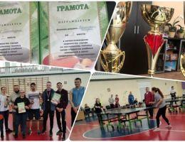 Первенство Каменска-Уральского по настольному теннису среди студентов