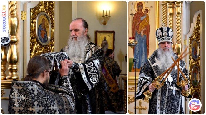 Первую в этом году Литургию Преждеосвященных Даров возглавил владыка Мефодий