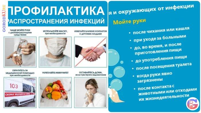 Предупреждение распространения новой коронавирусной инфекции в Каменске-Уральском
