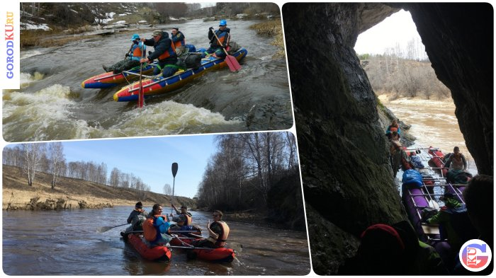 Река Багаряк радует жителей Каменска-Уральского своими порогами