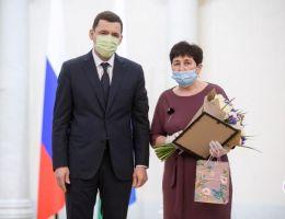 Сотрудница агрохозяйства «Каменское» награждена благодарственным письмом губернатора Свердловской области
