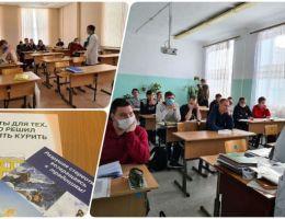 Волонтеры-медики встретились со студентами  Агропромышленного техникума Каменска-Уральского