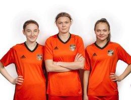Воспитанница Каменского футбола отправились в расположение женской юниорской сборной России