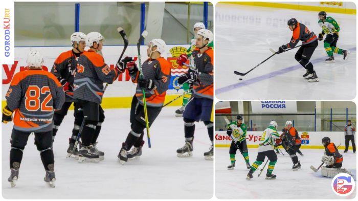Завершились игры по хоккею среди взрослых команд