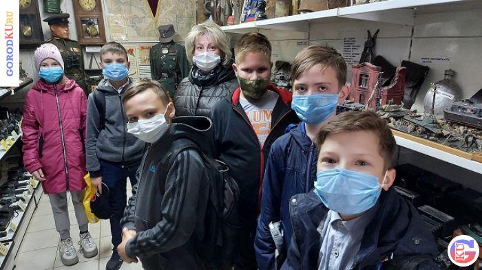 Школьники прикоснулись к военной истории в Каменске-Уральском