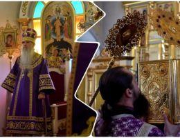 Литургия в день памяти прп. Марии Египетской в Каменске-Уральском