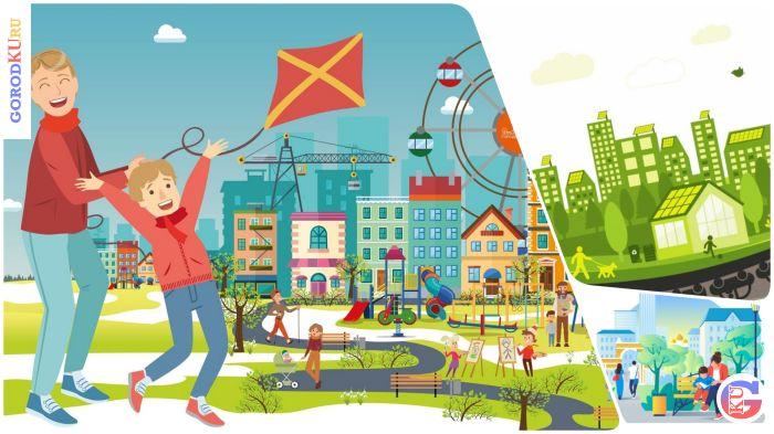 Регион с высоким качеством городской среды