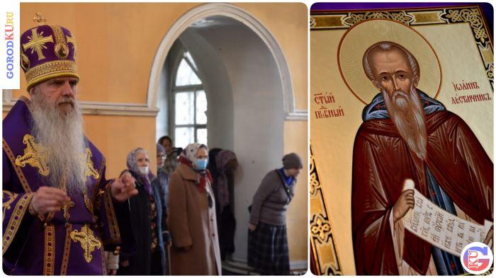 В 4-ю неделю Великого поста епископ Мефодий совершил Божественную литургию
