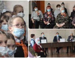 Ветераны Каменска-Уральского участвовали в областной видеоконференции