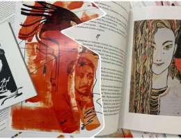 До 1 июня работает выставка о процессе создания книги с точки зрения иллюстратора