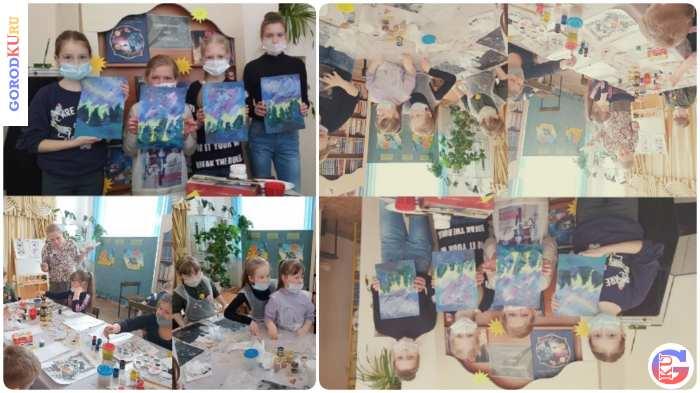 Мастер-классы в библиотеке для юных читателей Каменска-Уральского