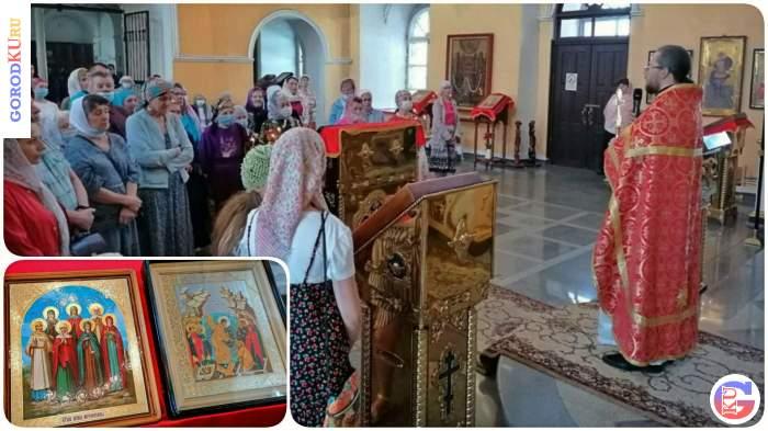 Праздничные богослужения в день свв. Жен-Мироносиц в Каменске-Уральском