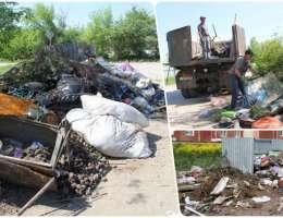 Садоводы превращают мусорные контейнеры в бесформенные свалки