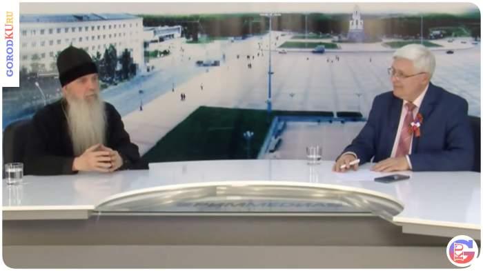 Владыка Мефодий принял участие в телепрограмме «Визит» РИМ ТВ