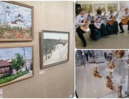 Новые выставки открыли в арт-пространстве каменской галереи