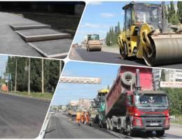 Обновление дорожного полотна и обустройство тротуаров в Каменске-Уральском