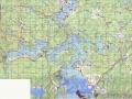 Карта Селигера