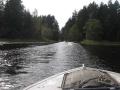 Прогулки на лодках по Селигеру.