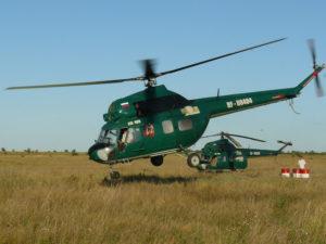 Соревнования вертолетов