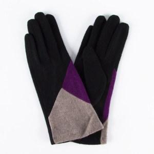 Перчатки женские цвет черный [LG03-01/09/12]
