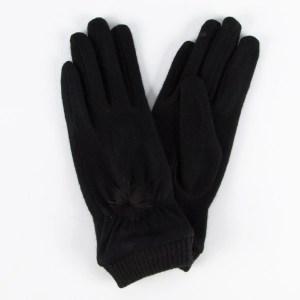 Перчатки женские цвет черный [LG61-01]