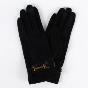 Перчатки женские цвет черный [LG69-01]
