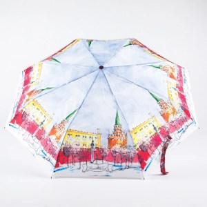 Зонт женский Классический полный автомат [43918-6]