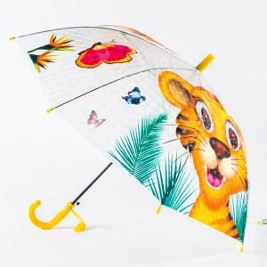 Зонт Детский Маленький полуавтомат [51658-2]