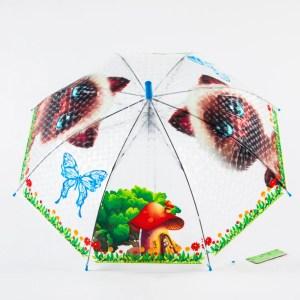 Зонт Детский Маленький полуавтомат [51658-3]