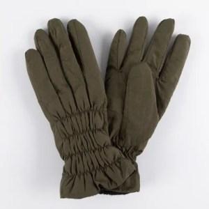 Перчатки женские цвет болотный [LG18-14]