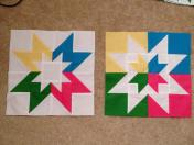 Vice Versa Block of the Month BOM Gen X Quilters GenXQuilters Quilt Blanket Star 8 pointed
