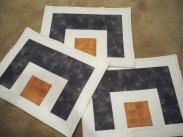 Placemat placemats place mat place mats white grey brown geometry cabinet