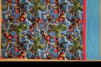 Marvel Avengers pillow case pillowcase Hulk Captain America Thor IronMan Iron Man kids novelty easy red blue