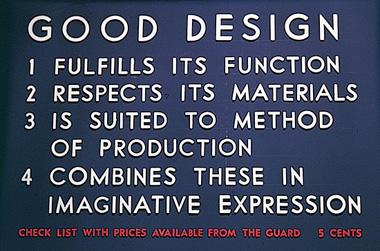 Los principios de un buen diseño