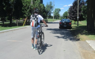 Results of Cyclist Speeds on the Down-Grade of Meadowlily Road in London, Ontario