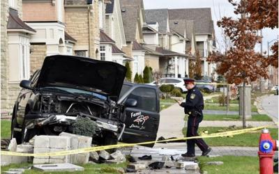 Unexplained Fatality in Minor Frontal Impact in Brampton
