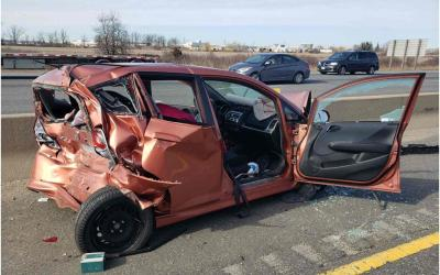 Issues Relating to Highway 401 Fatal Rear-End Impact Near Milton