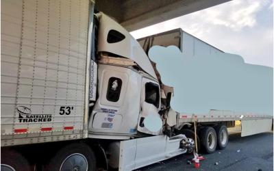 Highway 401 Rear-End Impact – Why Was A Truck Travelling So Slowly in Fast Lane?