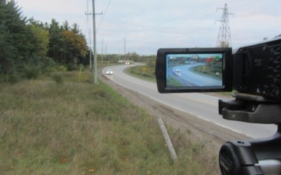 Videotaping at Clarke Road In London, From Ten Years Ago, Is Being Repeated