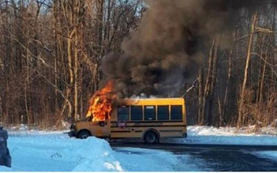 School Bus Fire in Cornwall Ontario – Why Has No One Asked How & Why It Started?