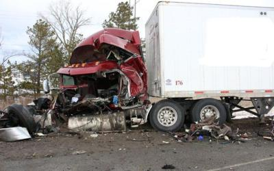 Transport Truck Collisions In Winter: A Demonstration of Expressway Safety Problems