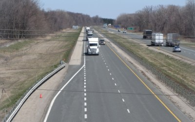 Preliminary Speeding Data for Hwy 401 at Graham Road Near West Lorne Ontario